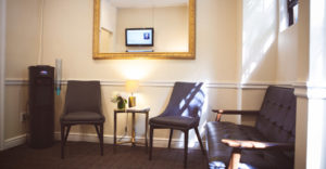 Photograph of Central Park West Dentistry, 68th Street office reception area
