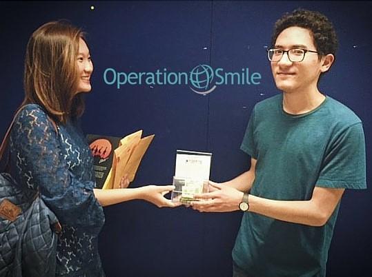 Operation Smile donation