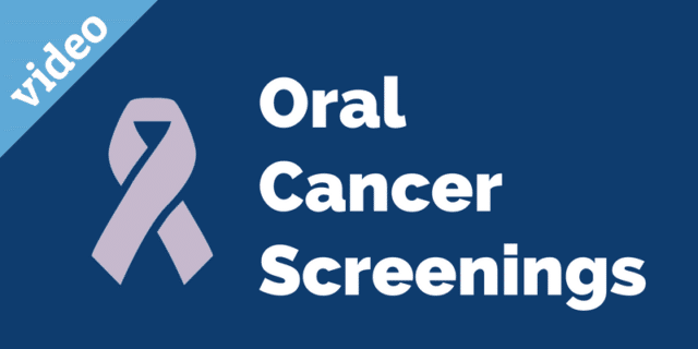 Oral cancer screenings video