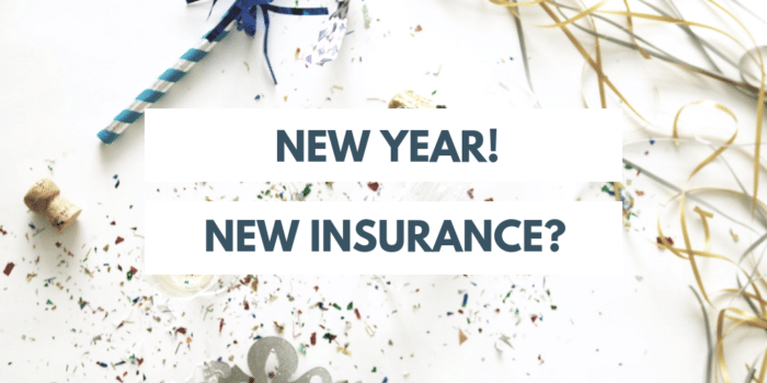 New Year New Insurance
